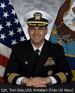Cpt. Tom Disy, US Navy