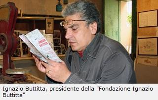 Ignazio Buttita, presidente della fondazione intestata al poeta siciliano, onno e omonimo