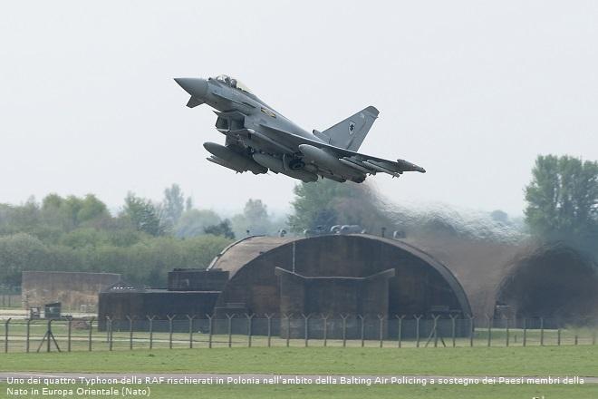 Allies enhance NATO air-policing duties in Baltic States, Poland, Romania