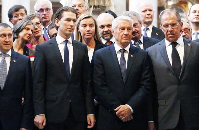 La riunione dei ministri degli Esteri a Vienna, in occasione del meeting del Consiglio d'Europa