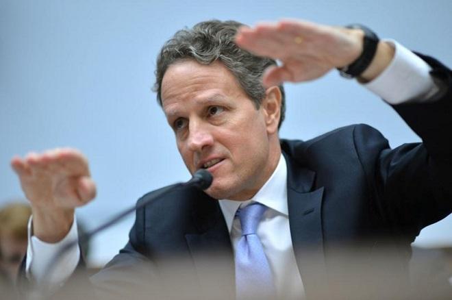 L'ex Segretario di Stato al Tesoro Usa Timothy Geithner