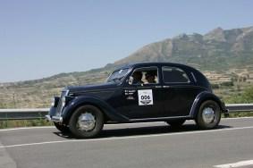 Vettura vincitrice Cavalleri-Meini su Lancia Aprilia del 38-654x436
