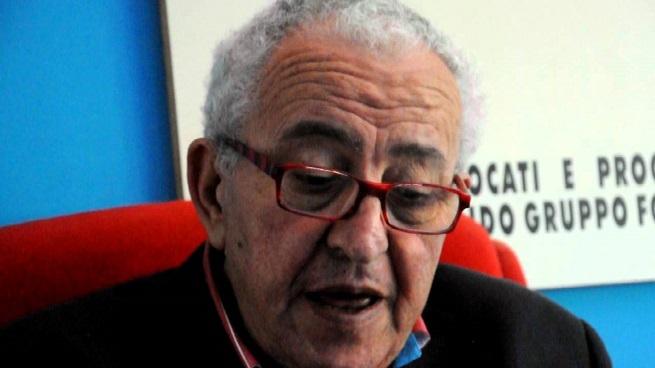 Mario Piccolino (71), l'avvocato-blogger anticamorra, molto attivo nella lotta contro le slot machines, ucciso oggi pomeriggio a Formia con un colpo di pistola in viso (foto da latinanews.it)