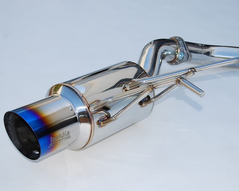 invidia n1 catback exhaust titanium tip