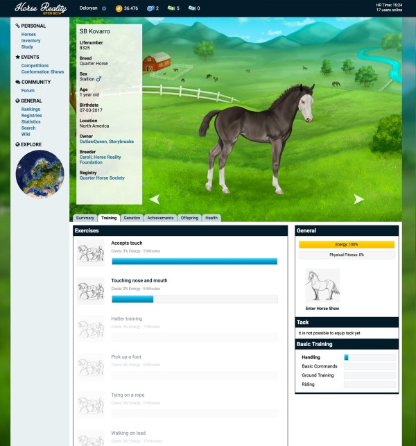 realistic horse games # 6
