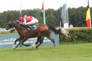 Poulain Kossack wins 2013 Sh Zayed race Hoppegarten Pamela Burton photo