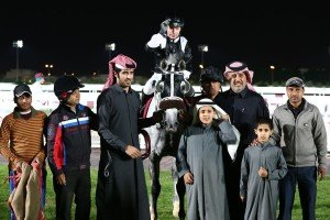 Majid AL Uraiq after the win