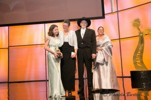 Mark and Lynne Ashby share Best Trainer Award with granddaughter