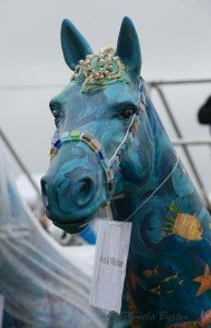 Painted horse head-0862