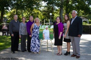 Don Patscheider (r) with family at Tent of Honor Award
