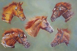 Gills horse painting
