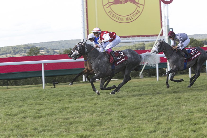 Sir Bani Yas wins Group 1 Qatar Intl Stakes at Goodwood 2015