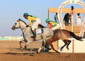 Stolt winning on Graffiti in Oman
