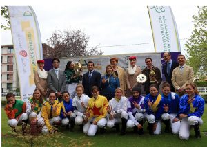 Ladies race prize giving
