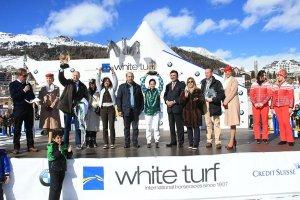 Award ceremony St. Moritz