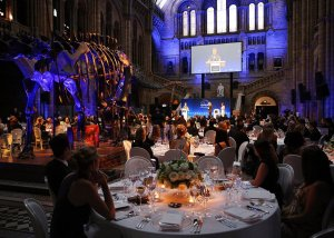 A general view of guests in the dining hall at the Longines Ladies Awards at the National History Museum on June, 13, 2016 in London, United Kingdom. (Photo by Rob Stothard/Getty Images for Longines)