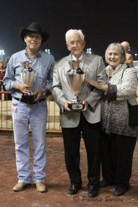 Jerenesto Torrez with Joe and Betty Gillis