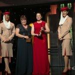 Stephanie Corum receives Best International Journalist Award