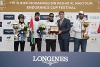 Winners of the CEI3 HHShMohammedBinRashidEndurance Ride