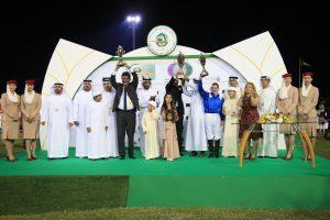 Prize Giving Triple Jewel race