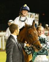 Pony Race winner, Stina Landh