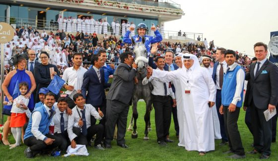 Ebraz, winner HH THE AMIR SWORD victory