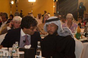 HH Sh Sultan at a Heritage Arabian Racing Club forum 2016