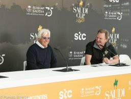 Bob Baffert Press Interview