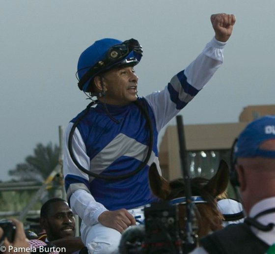 Mike Smith winner of Jockey Challenge