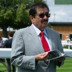Sheikh Hamdan bin Rashid Al Maktoum at Newbury 2019 - Pamela