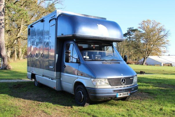 MERCEDES-BENZ SPRINTER 412D GUILLAUME