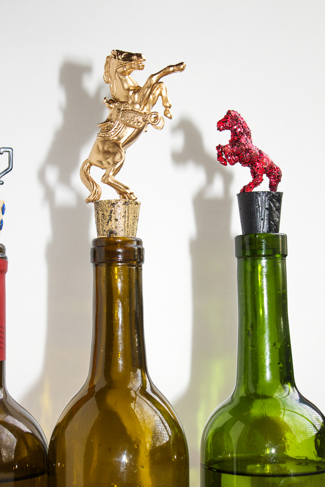 DIY Equestrian Themed Wine Stoppers Horses Amp Heels