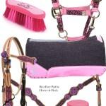 Pink Tack For The Barrel Racer Horses Heels