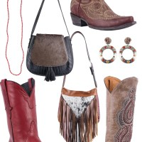 A Touch of Red + Neutral Western Accessories