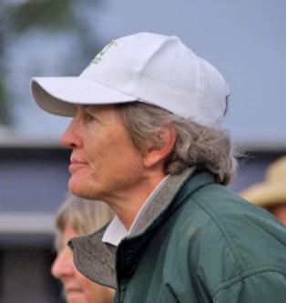 Australian team coach Vicki Roycroft
