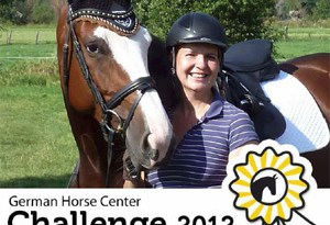 The German Horse Center Challenge 2012 awarded virtual ribbons to the winners.