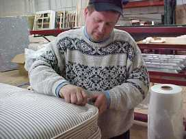 Mattresses are hand made.