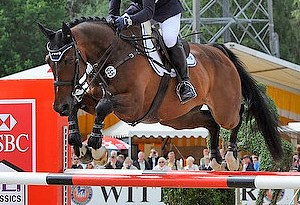 Germany's Michael Jung and Leopin FST winning the Luhmühlen CCI4* last June.