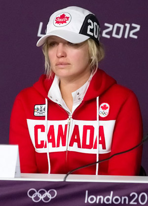 Canadian Olympic Team member for Show Jumping Tiffany Foster was disqualified from further competition on Monday, August 5, at the 2012 London Olympic Games.