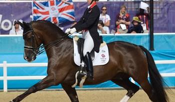 Gold medalist Charlotte Dujardin and Valegro.