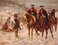 John Ward Dunsmore, Washington and Lafayette at Valley Forge (1907)