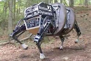 The LS3 robot by Boston Dynamics.