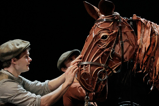 A scene from War Horse.