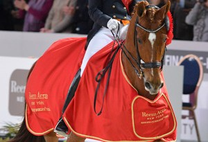 Defending champions, Adelinde Cornelissen and Parzival, will be striving for their third consecutive Reem Acra FEI World Cup™ Dressage title in the 2012/2013 series which begins at Odense, Denmark next weekend.