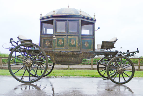 The State Carriage owned by the Maharaja of Mysore, Southern India.