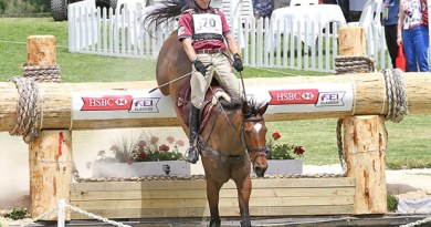 Craig Barrett and Sandhills Brillaire claimed the lead after cross country at the Australian International 3DE in Adelaide. J