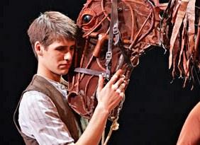 A scene from the British season of War Horse.