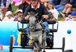 Brian Shanks and Spot are among the starters for the scurry racing in Dunedin next month.