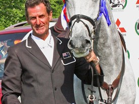2011 Badminton winners Mark Todd and Land Vision.