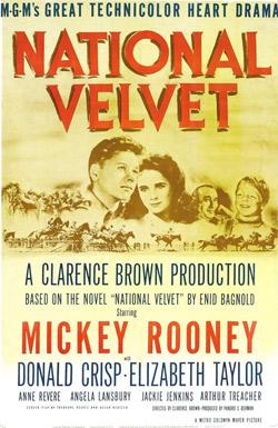 National Velvet, Metro-Goldwyn-Mayer, 1944.